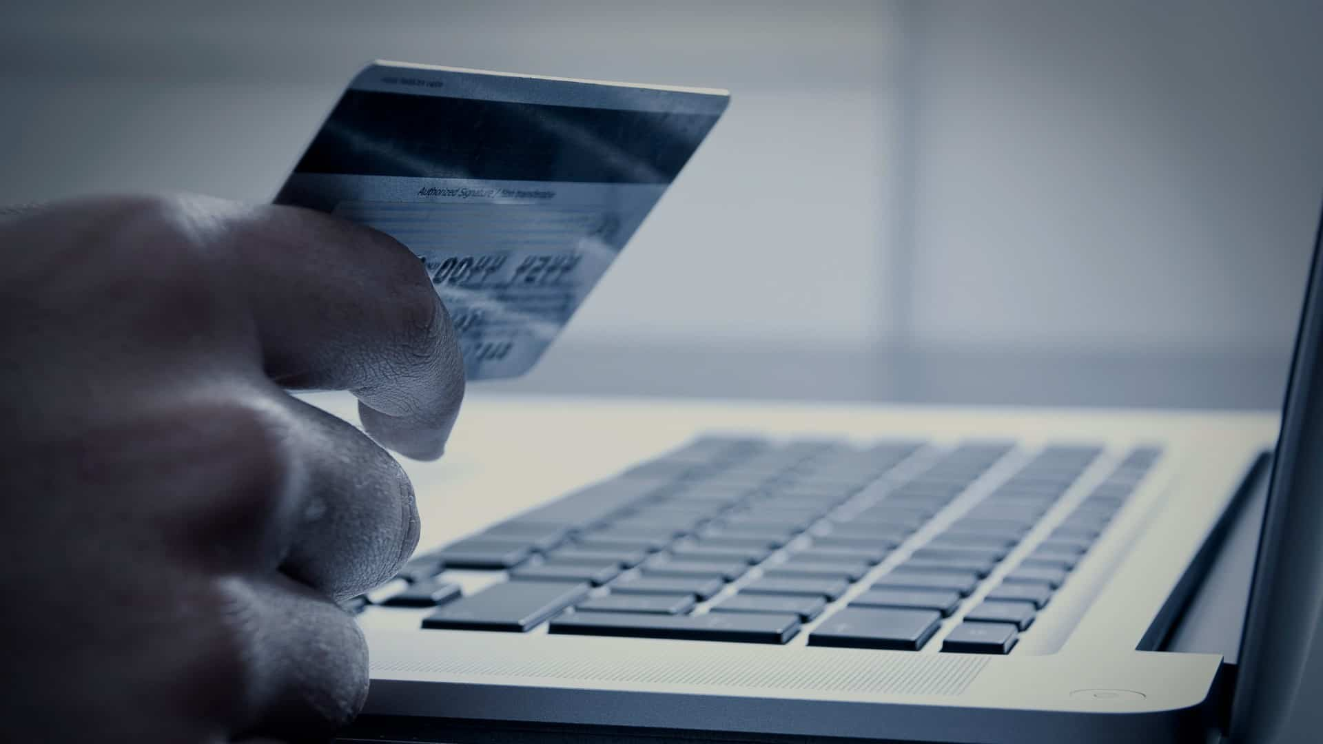 the usage of online banking and debit cards