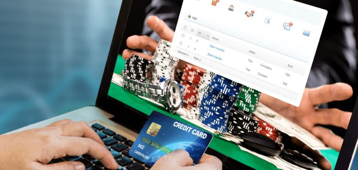 the online banking in the gabmling